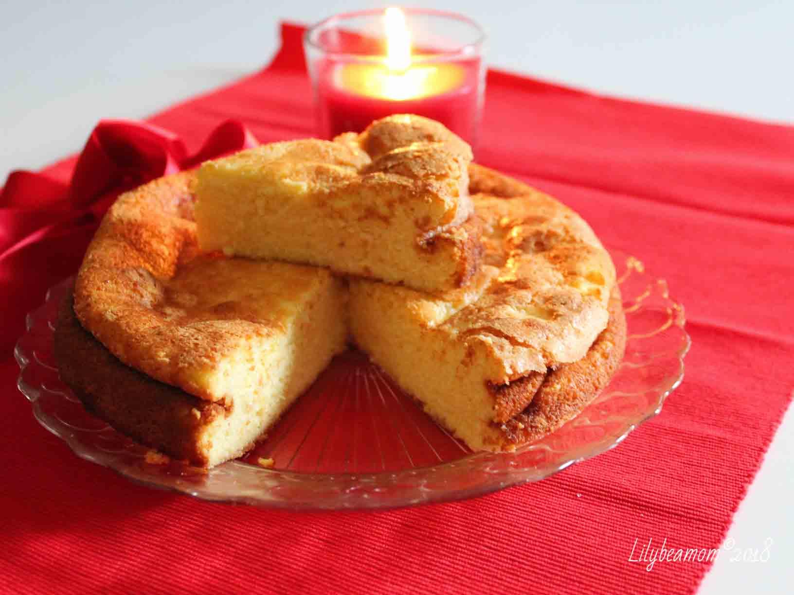 Torta al forno al limone