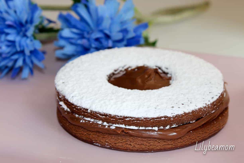 Occhi di bue al cacao e nutella | paninisopraffini